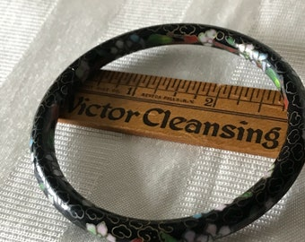 Vintage Jewelry / Cloisonne Bangle Bracelet