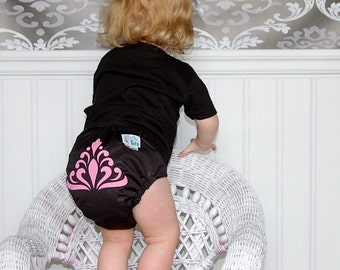 INSTANT DOWNLOAD One Size Pocket Diaper Pattern PDF by Cloth Tots Make Your Own Cloth Diapers