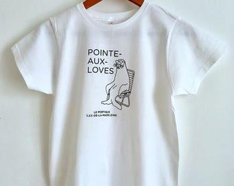 T-shirt women tip - to-LOVES
