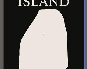 Custom Rutland Island Sign