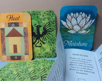 Divination Card Deck: Green Set