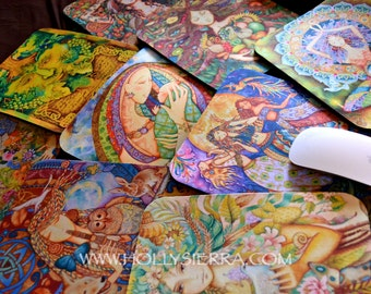 MOUSE PAD - Holly Sierra Fine Art - Choose The Image You Want