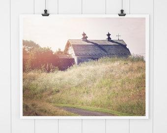 Barn Print, Modern Farmhouse Decor, Barn Picture, Landscape Photo, Barn Art, country home decor, landscape art, barn picture, wall art