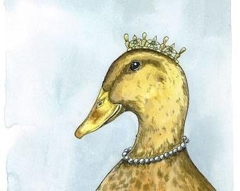 Royal Ducks 5 x7  (SPECIAL set of 2 prints)