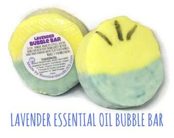 Minion Lavender Bubble Bar - Natural Bubble Bath - Kids Bubble Bath - Moisturizing Bubble Bath - Minion Party Favors - Descpicable Me - Gru