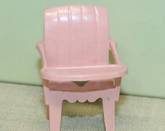 Marx dollhouse furniture 3/4 scale potty chair for your Marxie Mansion tin litho dollhouse Nursery