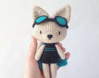 Charlotte the super amigurumi cat - Pattern PDF