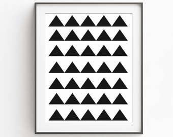 Loft Wall Art - Modern Printable Poster - Wall Art - Modern Minimal Art - Black White Print - Modern Art - Geometric Decor - Large Posters
