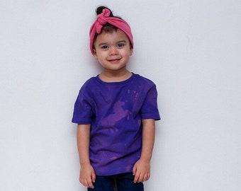 unicorn tee shirt, girls shirt, bleached shirt, tee, t shirt
