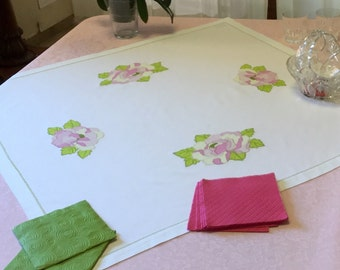 Center Peony Rose Table