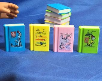 4 mini books sized for 18 inch dolls like American Girl dolls. 18 inch doll accessoriex