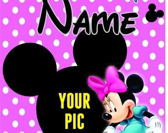 Minnie Banner / Tshirt Transfer
