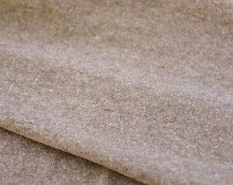 Light Brown Wool Knit - Made in Japan