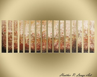 Original Multi Panel Landscape Abstract Painting Modern Contemporary Home Decor Made To Order