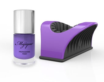 Majique Nail Buddy Purple and 'Lavender Fields' Nail Polish
