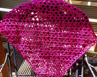 Large Pink Stuffed Animal Hammock.