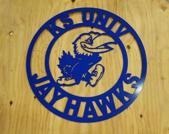 KU Jayhawk Wall Decor