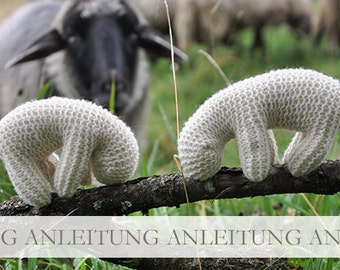 NATURKINDER Pattern for Waldorf-Inspired Sheep