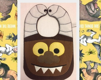 Carol Monster Bib from Where The  Wild Things Are