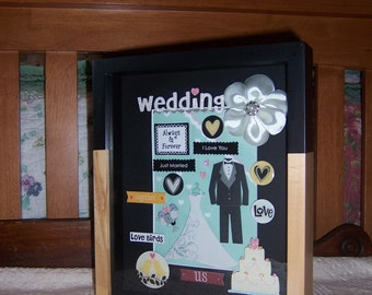 Always and Forever Wedding Shadowbox