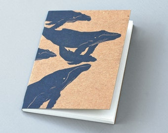Whales Notebook Journal
