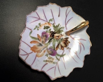 ORION China Leaf Dish Made In Japan