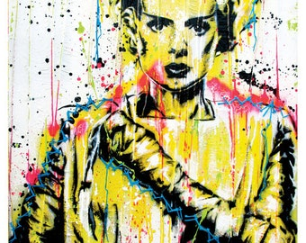 Bride of Frankenstein - 18 x 24 High Quality Art Poster