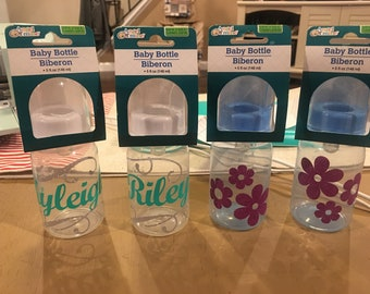 Personalized baby bottles