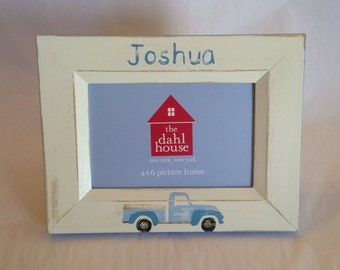 pick up truck picture frame