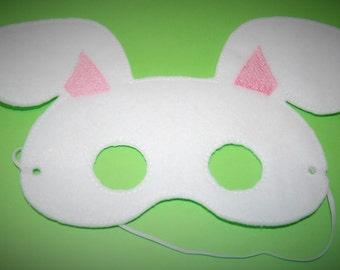 Felt Bunny Mask