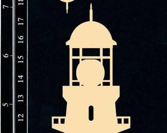 Dusty Attic, DA1175, Lighthouse 2 , Scrapbooking, Chipboard, Card Making, Mixed Media, DYI crafts