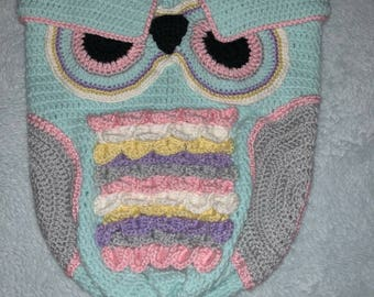 Owl cacoon