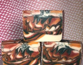 Strawberry Patch Soap; Bath and Body; Handmade Soap