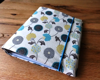 A5 ring binder folder to the birthday gift create mother's day Valentine's day wedding fabric cover retro flowers