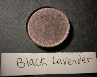 Black Lavender pressed 26mm mica vegan eyeshadow makeup