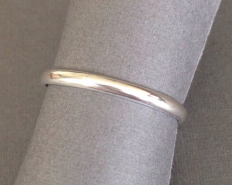 Simple Sterling Silver Ring - Made to Order