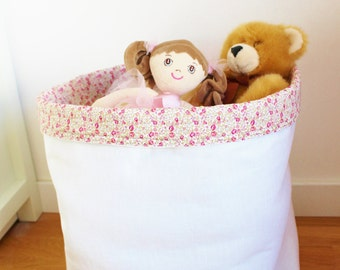 Bag of toys Pink Eloise Liberty - ON ORDER