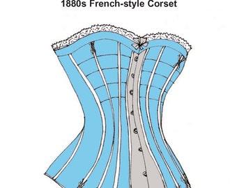 RH944 -- 1880s Corset