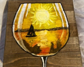 Boat in a Glass