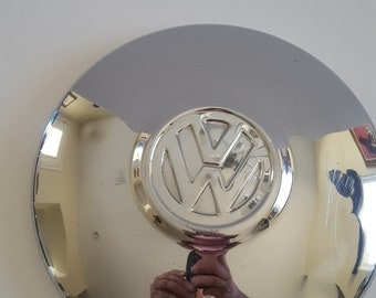 "Vintage 1960's Volkswagen 10"" hubcap,  very nice condition not perfect but close, used condition, VW Bus, Beetle"