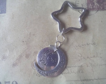 Keychain ~ to the moon and back... ~.