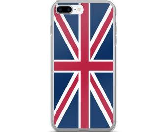 Union Jack British Flag iPhone 7/7 Plus Case