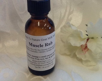 Muscle Rub/Essential oil/workout oil