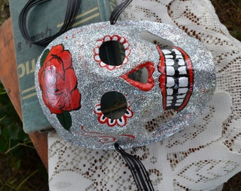 Rose Day of the Dead Mask