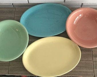 1940's Vintage Sunset Pottery Pieces