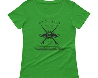 Blessed Fairtrade T-Shirt - Much More Green