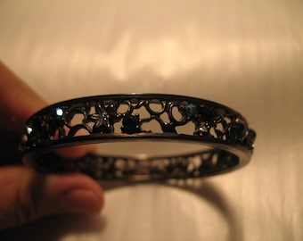 Vintage Givenchy Bracelet with Crystals
