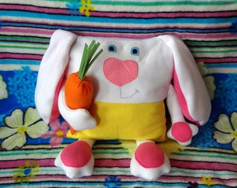 toy pillow, soft toy, bunny toy