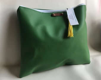 SALE! Olive Green Oversized Clutch
