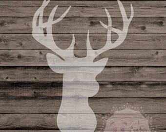 reindeer on wood, wall art, print, Christmas, home decor, decor, deer, decor, office, man cave, rustic, barn